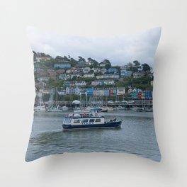 Dartmouth Ferry Throw Pillow