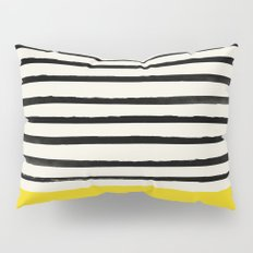 Sunshine x Stripes Pillow Sham