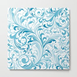 Abstract Floral 31 Metal Print