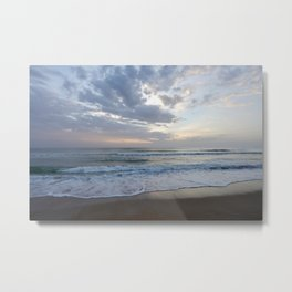 Seascape Flagler Beach Metal Print
