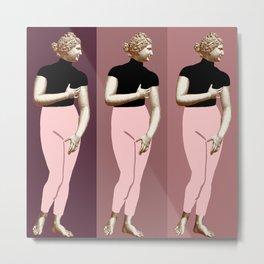 Venus times three- Modern Gal Metal Print