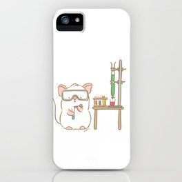 Lab Mouse iPhone Case