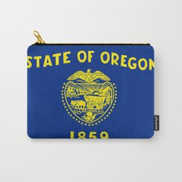 Oregon Flag Carry-All Pouch