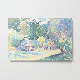 Landscape by Henri-Edmond Cross 1904, French Metal Print