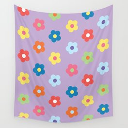 Flower Pattern (Multi-coloured) Wall Tapestry