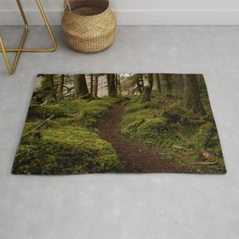 Old Sauk River Trail Rug