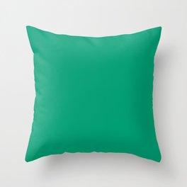 Green VII Throw Pillow