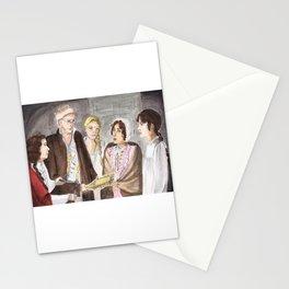 Lydia and Wickham run away Stationery Cards