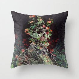 Mr. Cage Throw Pillow