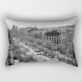 Watching and Waiting Rectangular Pillow