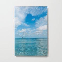 Florida Ocean View III Metal Print