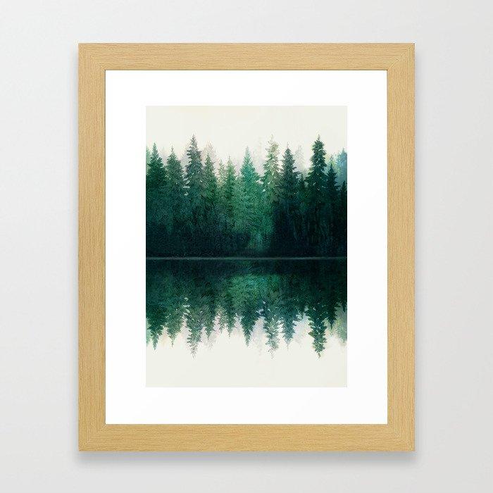Reflection Gerahmter Kunstdruck