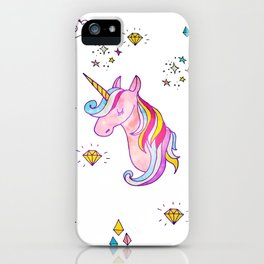 MAGIC UNICORN iPhone Case
