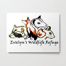 Wildlife Rescue Metal Print