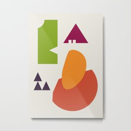 Abstract No.11 Metal Print