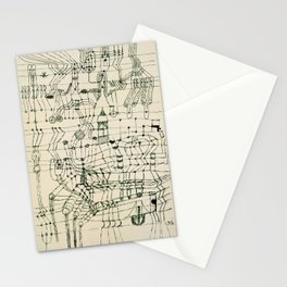 "Paul Klee ""Drawing Knotted in the Manner of a Net"" Stationery Cards"