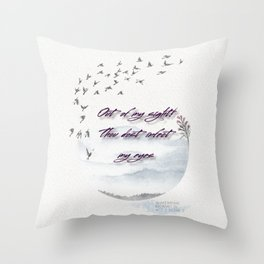 Shakespearean Insult - Thou dost infect my eyes Throw Pillow