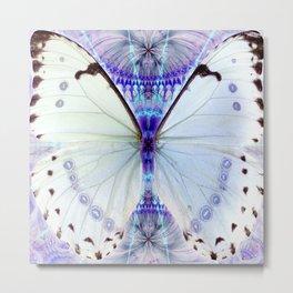 Lavender Lepidoptera Metal Print