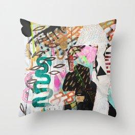 Growing Ancient Throw Pillow