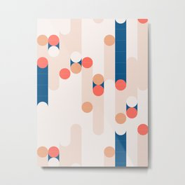 The Sound Of Tiles #society6 #pattern Metal Print