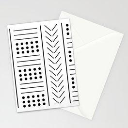 digital african mud cloth Stationery Cards