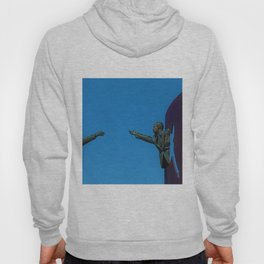 African American Masterpiece 'The American Dream' Portrait Painting Hoody