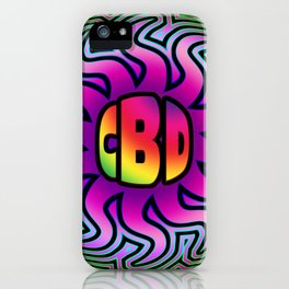 CBD Oil Sunshine iPhone Case