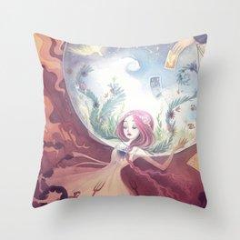 Personal Eden Throw Pillow