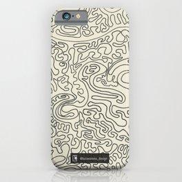Infinite ink lines motif iPhone Case
