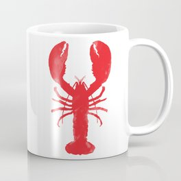 Watercolor Lobster Kaffeebecher
