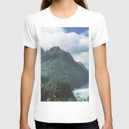 Na Pali Coast Kauai Hawaii T-shirt