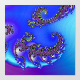 spiral growth -2- Canvas Print