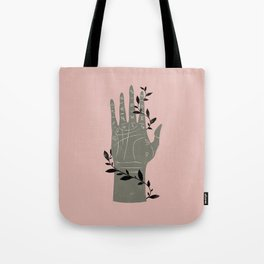 The Palmistry Hand Tote Bag