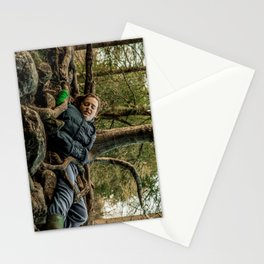 Man versus Nature Stationery Cards