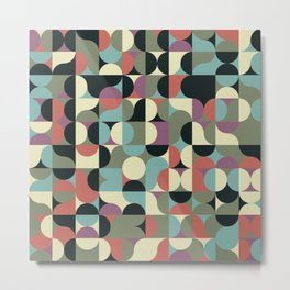 Abstract Geometric Artwork 45 Metal Print
