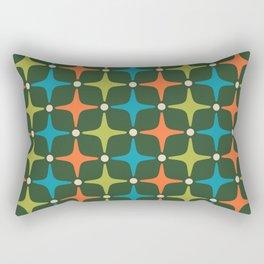 Mid Century Modern Star Pattern 934 Rectangular Pillow