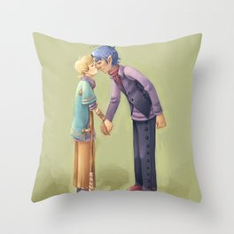You are way to small for your age, Mr. Throw Pillow