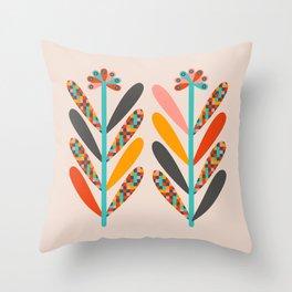 BLOOM - LIGHT Throw Pillow