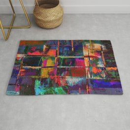 Canvas Abstract Deux Rug