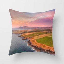 Porth Bryn Gwydd Throw Pillow