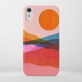 Abstraction_OCEAN_Beach_Minimalism_001 iPhone Case
