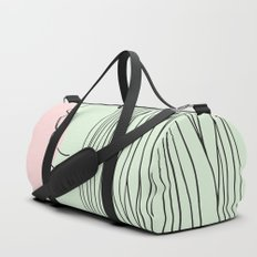 Pink bubblegum Duffle Bag