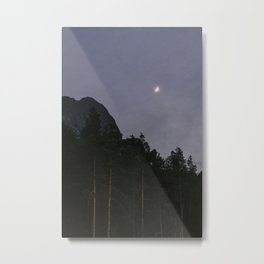 Lavender Moon | Nature and Landscape Photography Metal Print