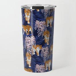 Siberian tiger Travel Mug