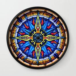 Celtic Compass #3 Wall Clock
