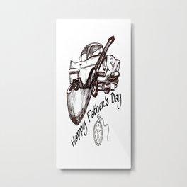 Cabsink16DesignerPatternFDT Metal Print