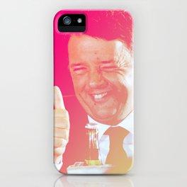 Matteo Renzi iPhone Case