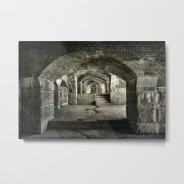 Casemate Carriage Metal Print