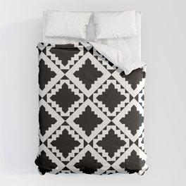 Modern Black Comforters
