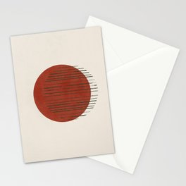 Mid century modern I Stationery Cards
